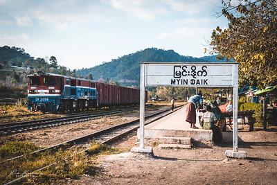 Myin Daik railway station