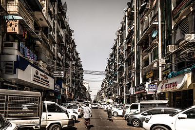 Street of Yangon