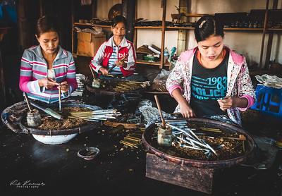 Myanmar Cigar handmade