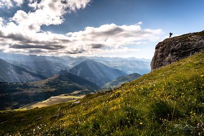 Montée mont Émy