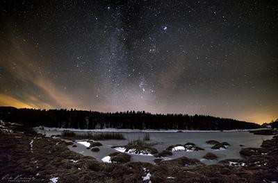 voie lactée lac de lamoura (86 sur 113)