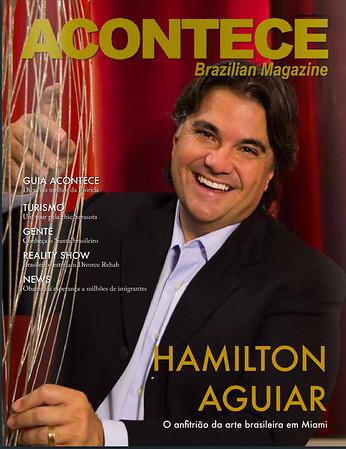 Hamilton Aguiar Acontece Magazine Cover