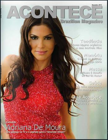 Adriana De Moura Acontece Magazine Cover