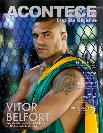 Vitor Belfort Acontece Magazine Cover