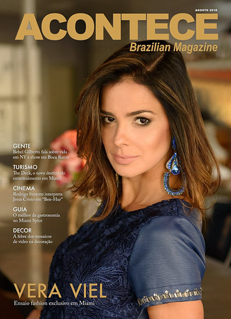Vera Viel Acontece Magazine Cover