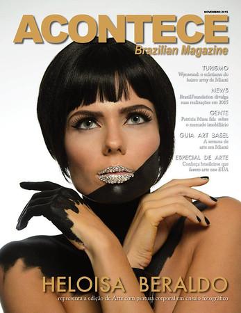 Heloisa Beraldo Acontece Magazine Cover