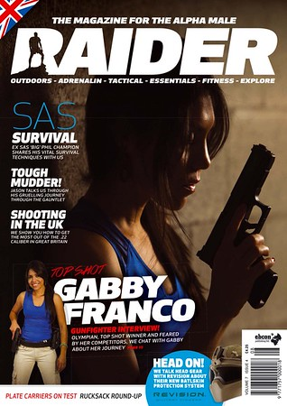 Gabby Franco Raider Cover