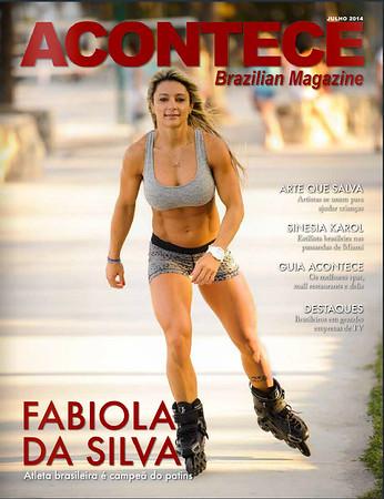 Fabiola Da Silva Acontece Magazine Cover