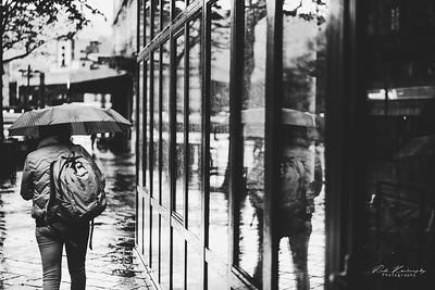 Street photo N&B grenoble