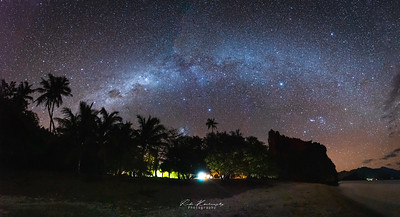 Milky way  in New caledonia