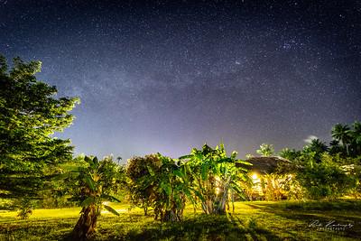 Night sky of Koh Phangan