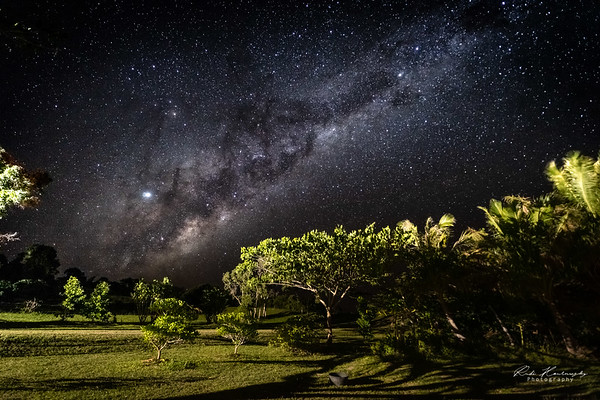 Milkyway above New Caledonia