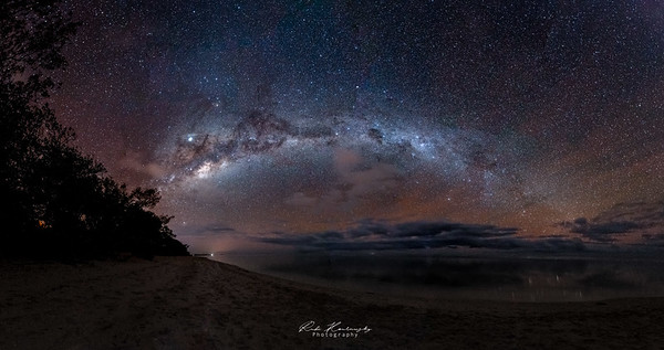 Astrophotography in New Caledonia