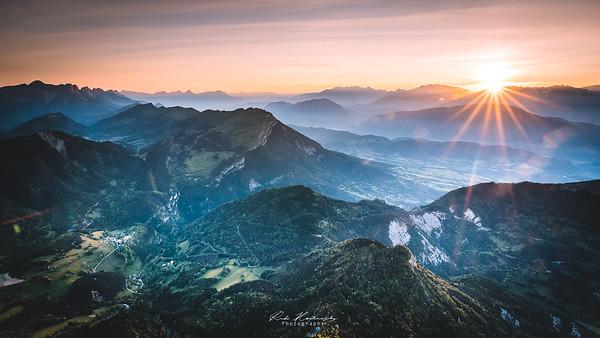 Sunrise Mont Aiguille