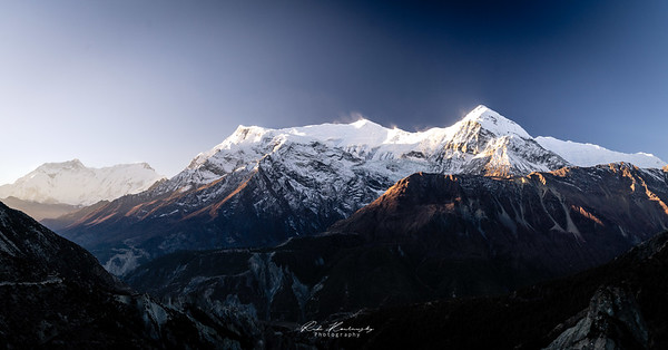 Sunrise on Gangapurna