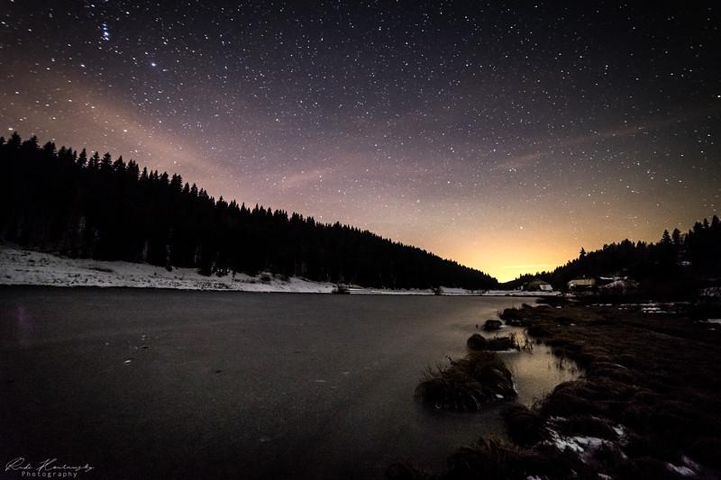 voie lactée lac de lamoura (94 sur 113)