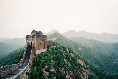 Muraille de chine de Jinshanling