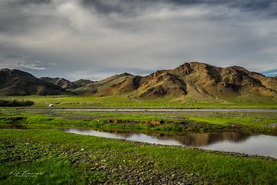 Quelque part entre le desert de Gobi et Orkhon