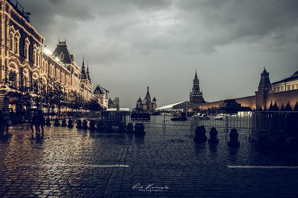 Place rouge de Moscou