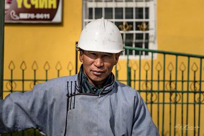 Taxi man Mongol