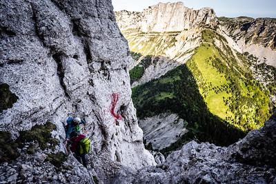 Bivouac-Gd voie Mont Aiguille 22 mai 2020  IMA02551