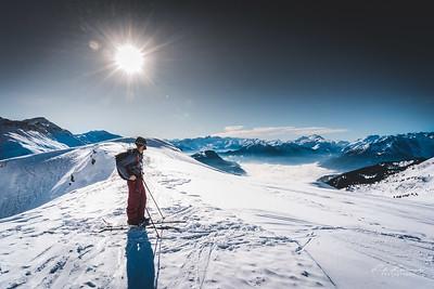 Ski de Rando au massif de la Lauzières
