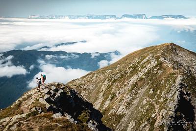 Massif de la chartreuse et combe de Savoie