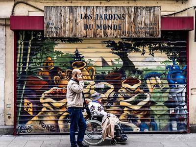 Street photos à Grenoble