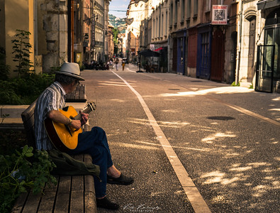 Dans les rue de Grenoble