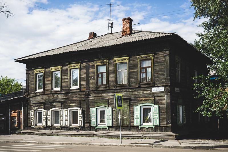 Dans les rues d'Irkustk