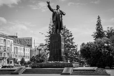 Statue de Lénine à Irkustk
