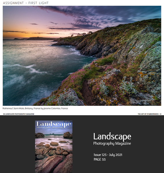 """LPM issue 125 July 2021 p55 """"First Light Assignment"""""""