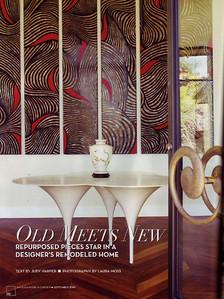 Phoenix Home & Garden.  The Inside Designers' Homes edition, September 2010