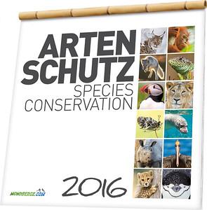 Species Conservation Calendar / Artenschutzkalender 2016