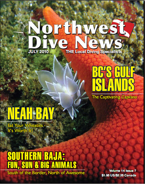 A photo of mine taken at Neah Bay made the cover of the July 2010 issue of NWDN. Pretty neat!
