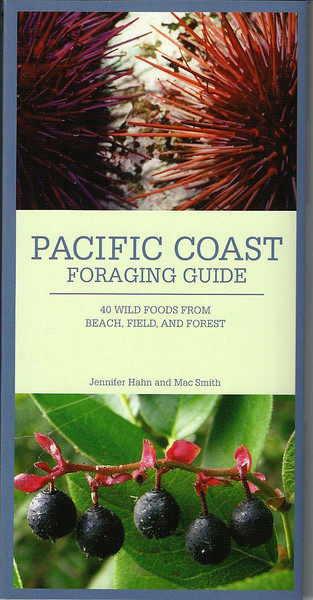 This fold out guide has my photos of Red and Green Sea Urchins not only on the cover, but inside as well.