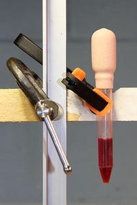 De techniek met de medicijndruppelaar