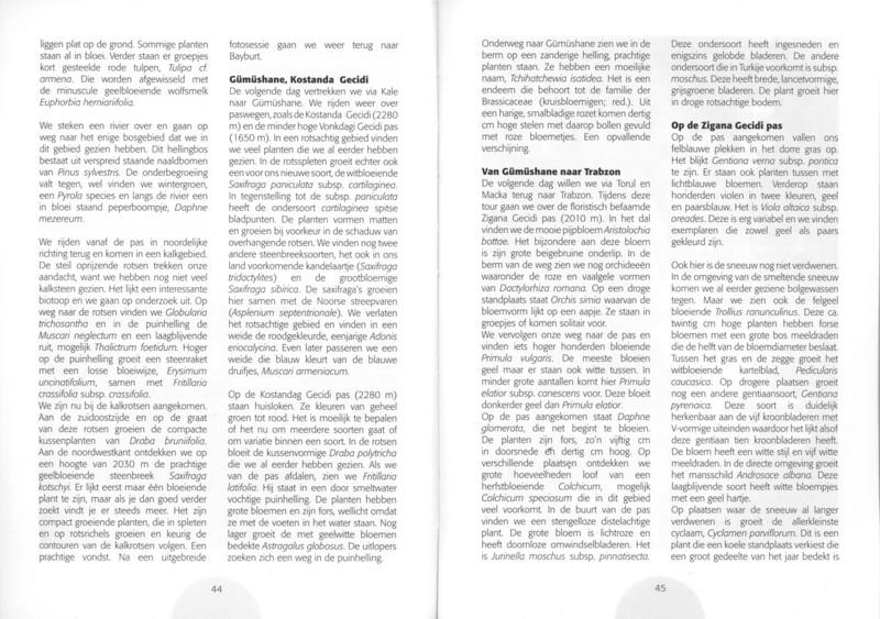 Een voorjaarsronde door Noordoost-Turkije (NRV No 98 Februari 2010) p. 44 - 45