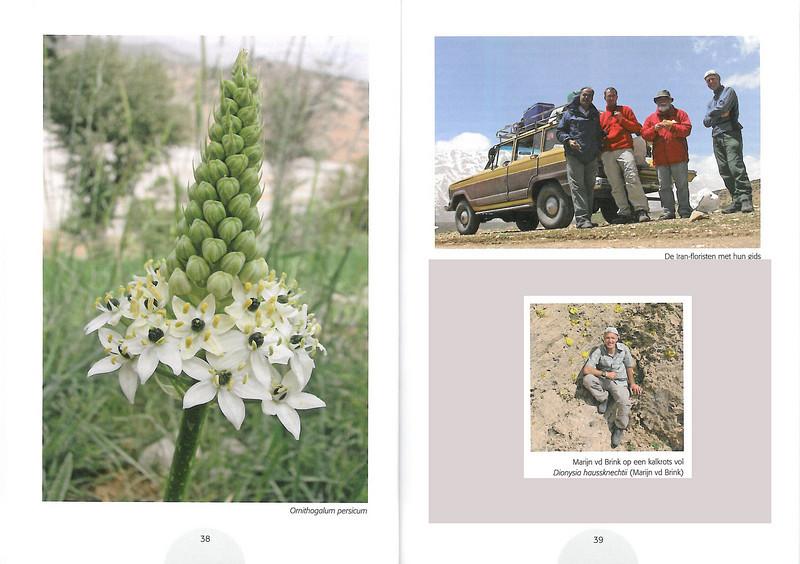 Plantenreis door Iran (NRV Folium Alpinum No. 95 May 2009 p. 38–39)