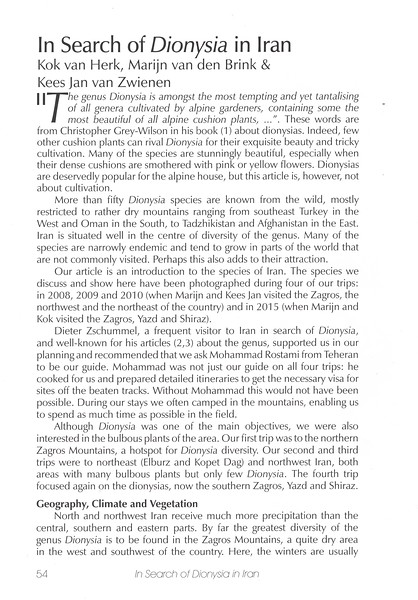 Page 54, In Search of Dionysia in Iran
