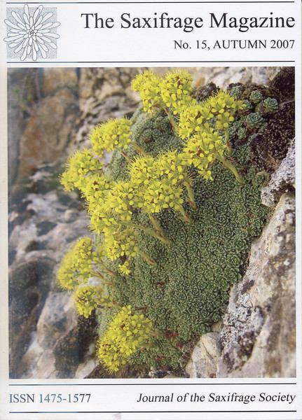 Saxifrages of Northeastern Turkey (Kristian Nyvoll, Tromso Botanic Gardens, Norway)