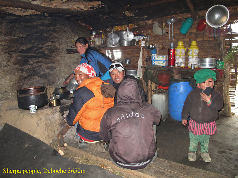 Sherpa people, Deboche 3650m