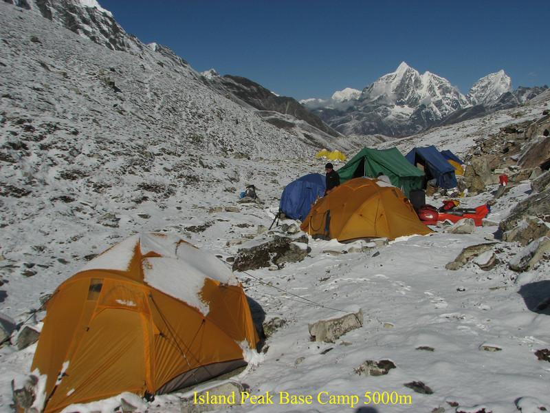 Island Peak Base Camp 5000m
