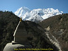 Stupa, Deboche 3630m-Pangboche-Chhukung 4780m
