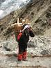 Porter, Khare 4950m-Kothe 3700m