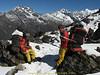 Sherpa porters, Kharka 4150m-Kothe 3700m