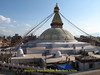 Buddhistic Stupa Bodhnath, Kathmandu 1300m