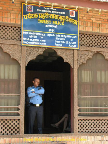 Permit Police Office, Kathmandu 1300m