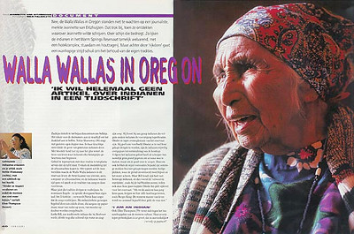 GRASDUINEN (Holland): Oregon - the Cascades and its Indians (cultural-historical feature)