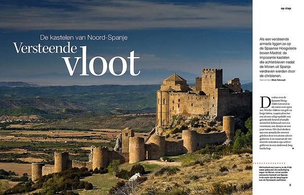 Opening spread: the castle of Loarre.